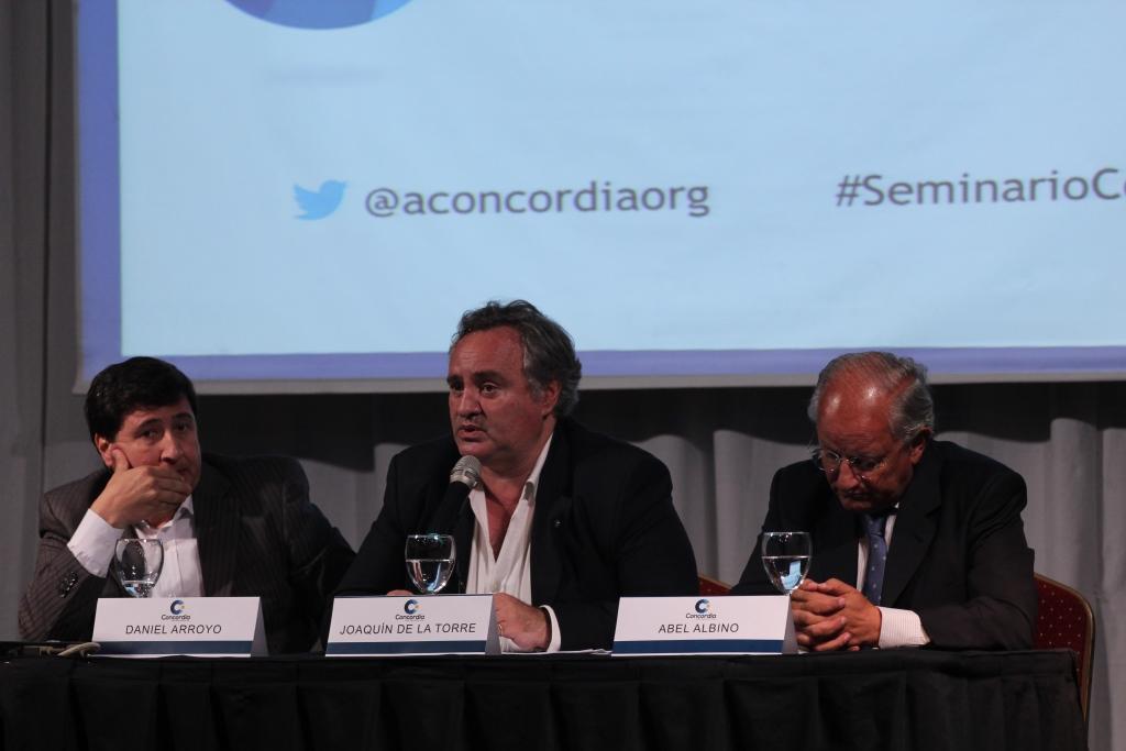 Con eje en desarrollo social, Concordia realizó un seminario sobre 4 pilares para una política de Estado