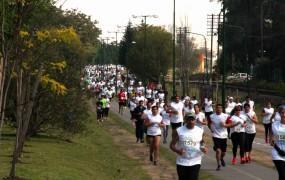 El corredor aerobico fue la pista de la maratón