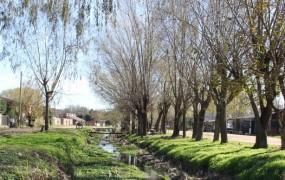 El saneamiento de arroyo