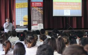 Joaquín de la Torre participó del cierre del año  del programa de Educación vial