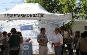 Un tráiler de Salud recorre los barrios de San Miguel