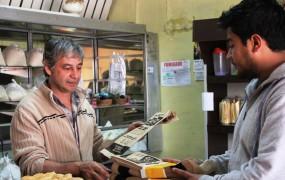 Se repartieron bolsas de papel 100% reciclables en más de 70 panaderías del partido de San Miguel.