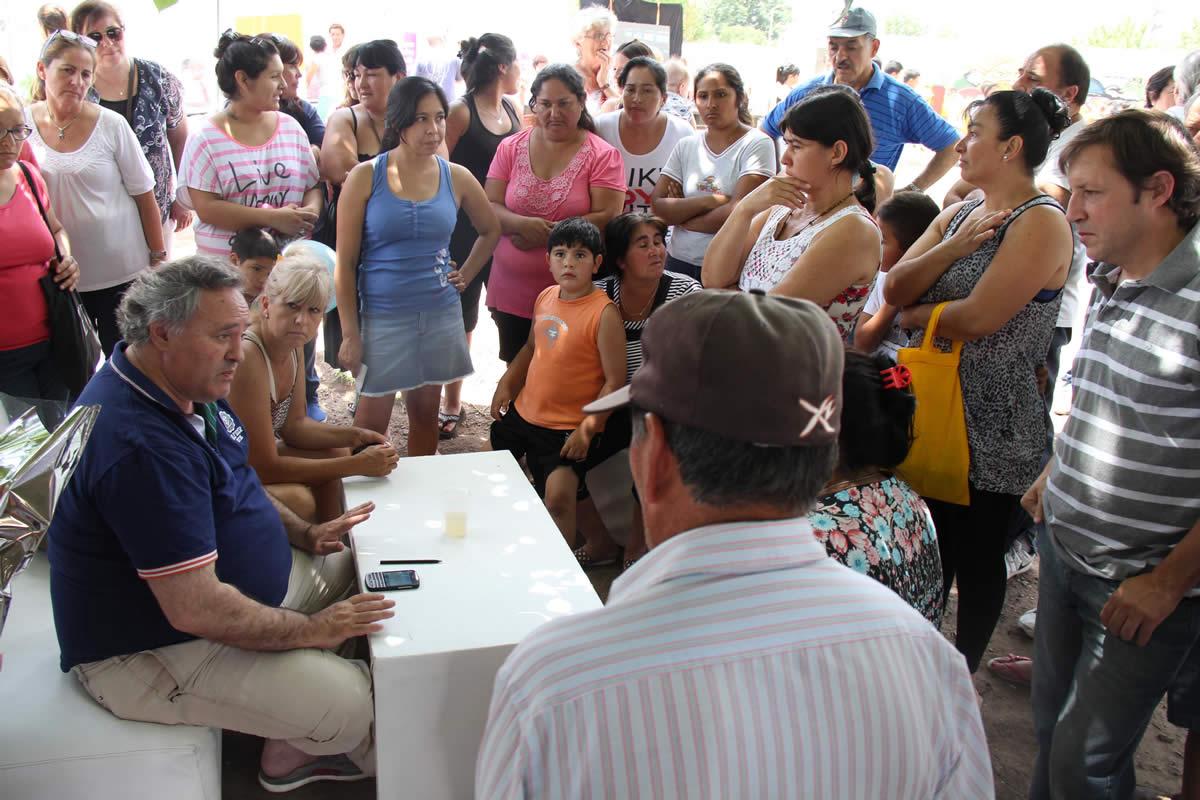 El Municipio en Barrio Mitre