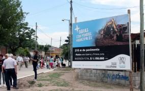 La obra se realizó con fondos municipales