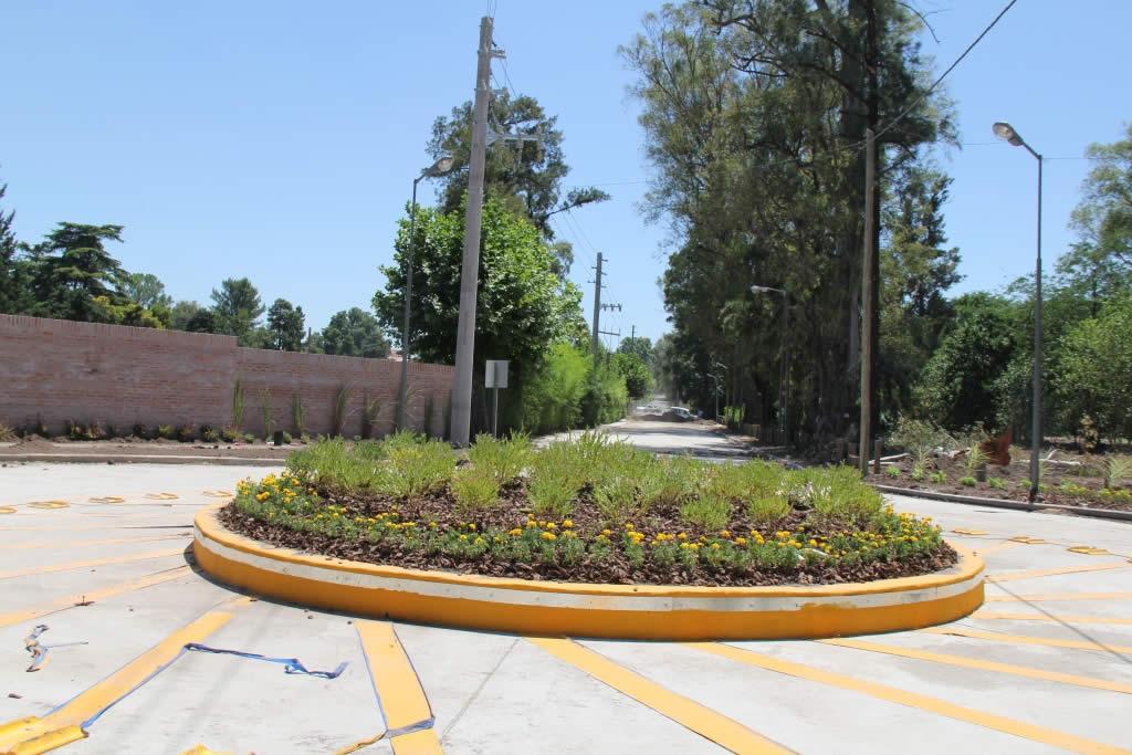 Se abrió una rotonda clave para el ordenamiento del tránsito en Bella Vista
