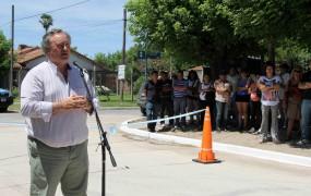 Se inauguró un nuevo asfalto en la Ciudad Santa María