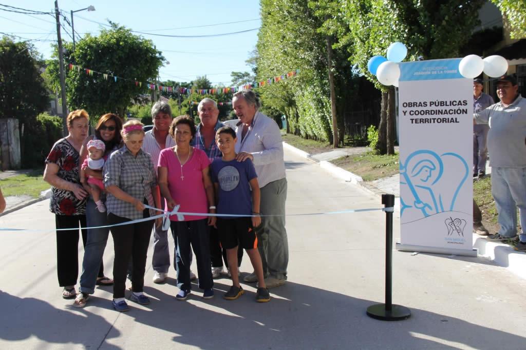 Nuevo pavimento mejora conectividad hacia el Centro de San Miguel