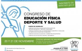 I CONGRESO DE EDUCACIÓN FÍSICA, DEPORTES Y SALUD en SAN MIGUEL