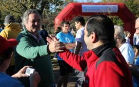 Joaquín de la Torre estuvo presente en la maratón