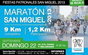 Fiestas Patronales: Maratón San Miguel