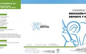 TRIPTICO CONGRESO DEPORTES 2014