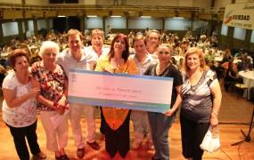 El primer premio fue para la sociedad de fomento SOEVA