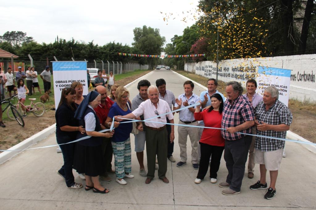 Nuevo pavimento para agilizar el tránsito en Ciudad Santa María