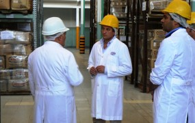 El Municipio de San Miguel supervisó la renovada planta industrial Domingo Mangone S.A.