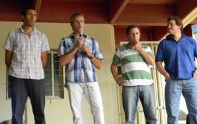 Ariel Dalbene y Darío Vecchio estuvieron acompañados por Jaime Méndez y Max Perkins