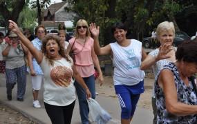 Cientos de abuelos disfrutaron de una jornada al aire libre