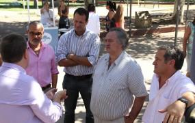 El intendente supervisó la campaña de prevención contra el cáncer junto a Mario Russo y Pablo de la Torre