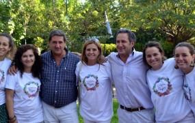 Fernando Inzaurraga estuvo acompañado por María José Tedeschi y Raquel Fried