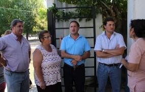 Fernando Inzaurraga y Max Perkins acompañaron a Pablo de la Torre en el CAPS Favaloro