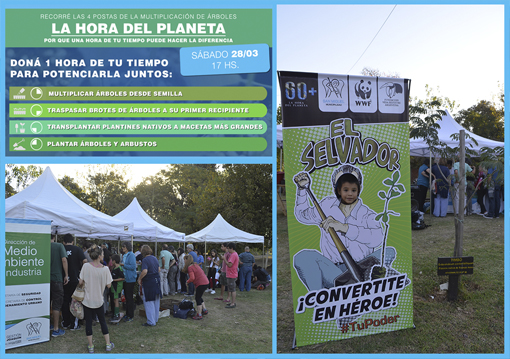 San Miguel se sumó al evento ambiental más importante del mundo
