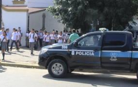 Junto al inicio de clases, comenzó el operativo de seguridad que protege a todo el corredor escolar