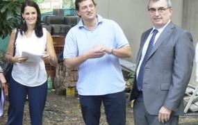 Se supervisaron las futuras instalaciones de las Fiscalías de San Miguel
