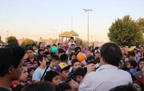 El secretario de obras públicas estuvo presente en el barrio Don Alfonso
