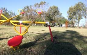La nueva Plaza en el Polideportivo de Bella Vista