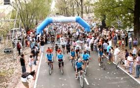 Los ciclistas hicieron una prueba de circuito inaugural