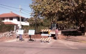 Obra hidráulica en Pardo y Entr Rios