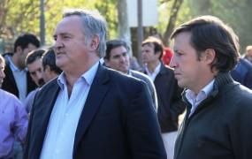 El Intendente y el secretario de obras públicas inauguraron la calle santa fe y el tramo cuatro de la obra hidráulica