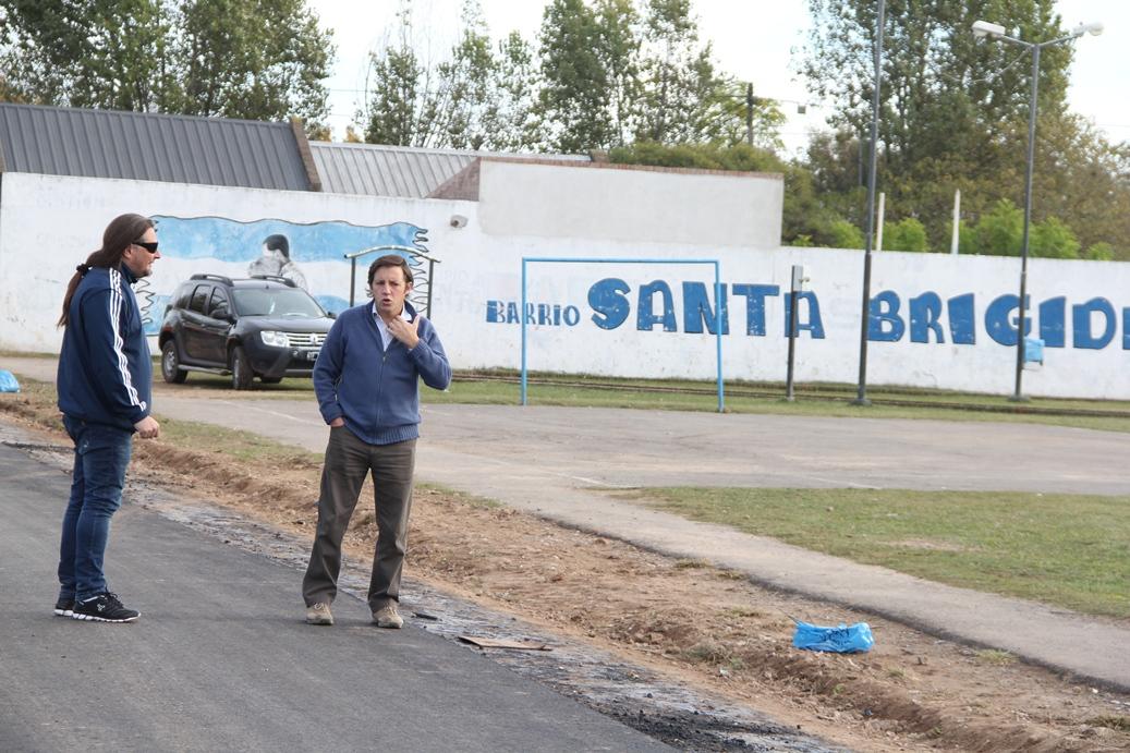 Nuevos asfaltos en San Miguel
