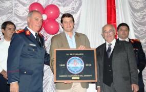 Festejo por el 70° Aniversario del cuerpo de Bomberos voluntarios de General Sarmiento