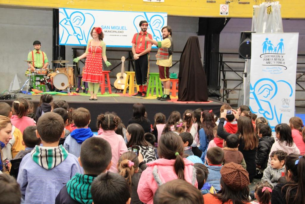 San Miguel celebró el Día de los Jardines de Infantes ...