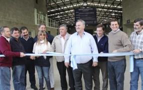 Se inauguró el Nuevo Centro Operativo Logístico de la Policía Municipal