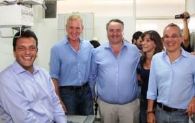 Junto a Sergio Massa, Joaquín de la Torre inauguró sala de rayos en Centro de Salud Marta Antoniazzi