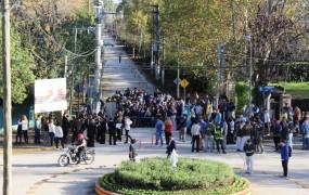 Se pavimentó Santa Fe desde el Arroyo Los Berros hasta Chapearouge