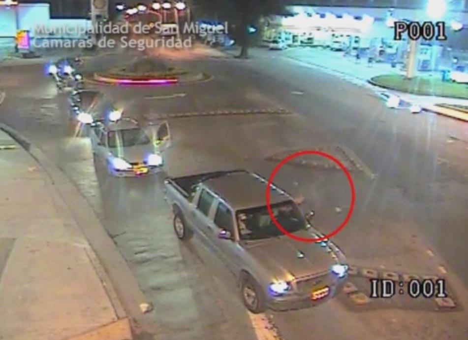 Detención de un sujeto que disparó contra otro tras discusión de tránsito