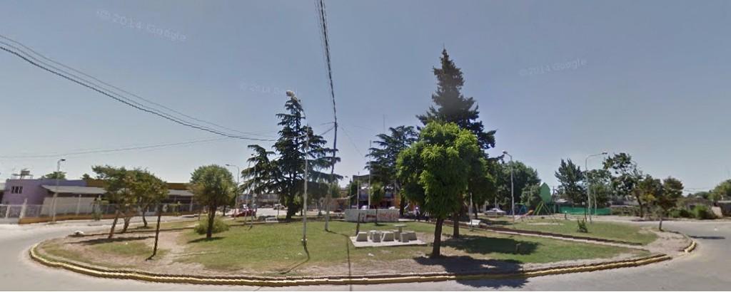 Plaza Santa María - Barrio Trujui - Municipalidad de San Miguel