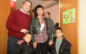 El coordinador de primera infancia saludó a las familias de Parque La Luz