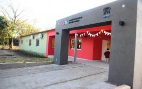 El frente del nuevo CDIF en Parque La Luz