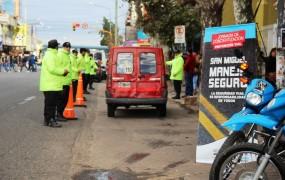 En San Miguel Centro se realizó una jornada de educación vial