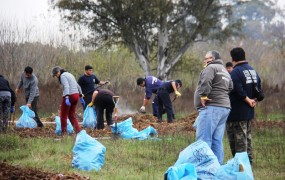 Se realizaron trabajos intensivos de limpieza a la vera del Río Reconquista