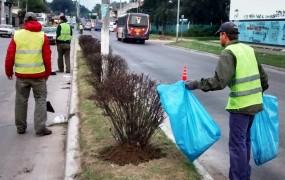 Más tareas de mantenimiento del espacio público