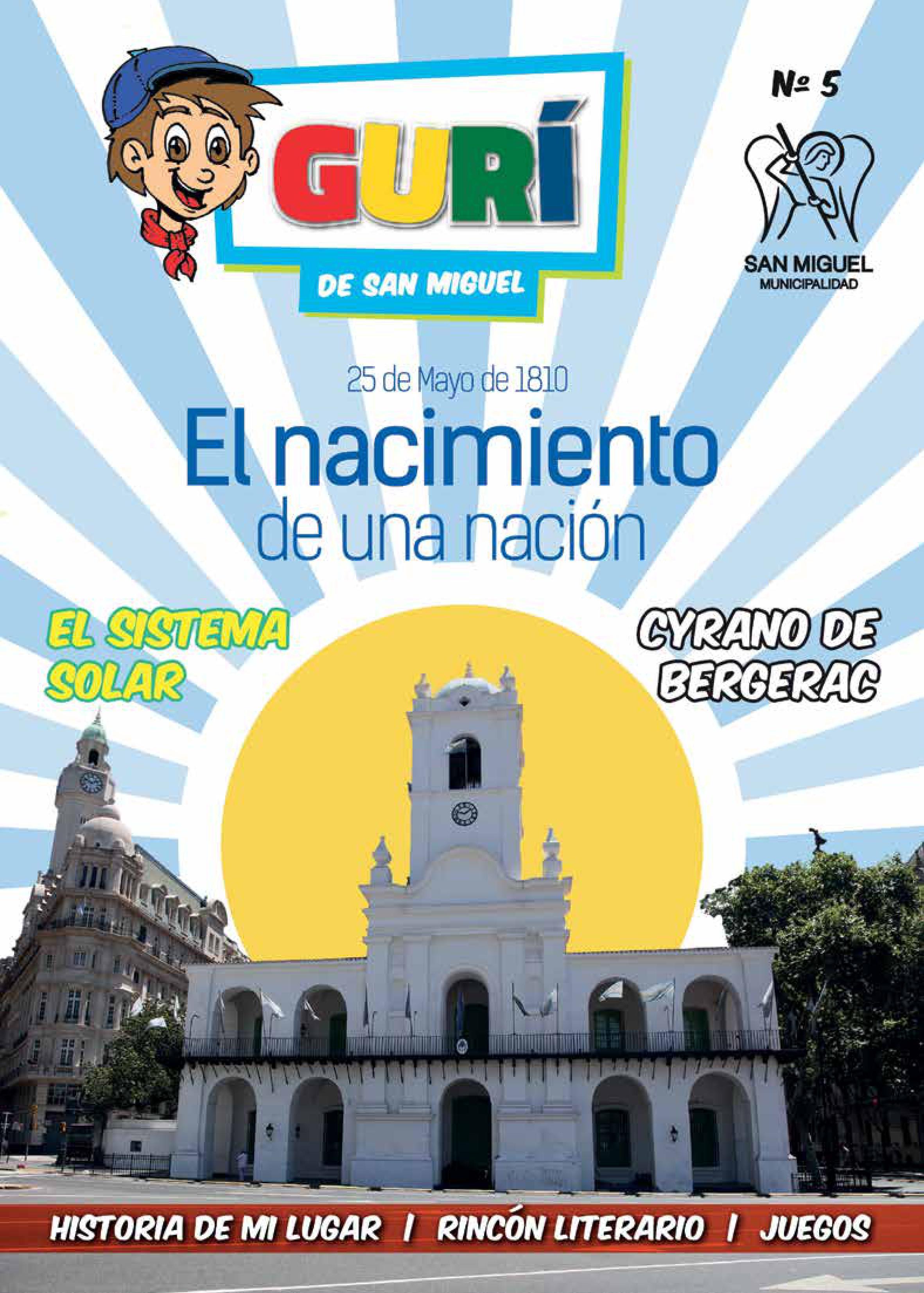 """Boletín """"Gurí"""" 25 Mayo"""