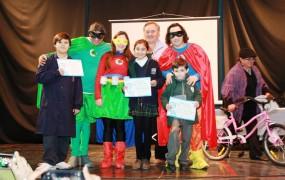 Cierre de concurso de reciclado en escuelas públicas y privadas de San Miguel