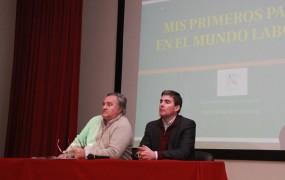 El jefe comunal estuvo acompañado por el secretario de Gobierno, José Richards