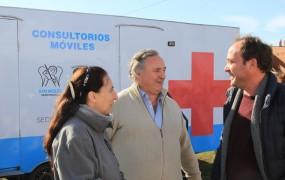 Joaquín de la Torre participó de un operativo de Salud en Barrio El Polo