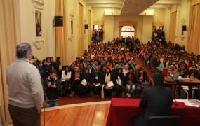 Joaquín habló de la importancia de orientar a los chicos en su vocación profesional