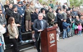 Joaquín habló de la importancia de recordar el espíritu fundacional de nuestra patria